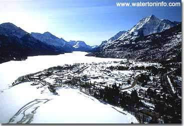 A perfect place for peaceful contemplation - Waterton Lakes National Park in the Winter!