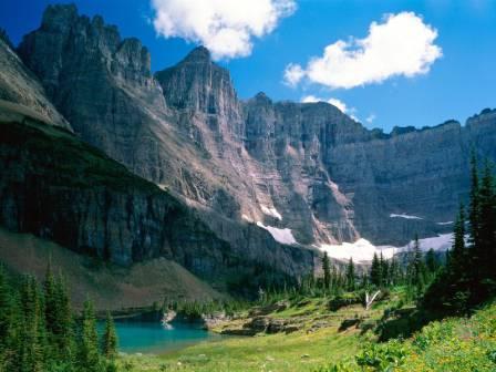 Glacier National Park Montana Usa