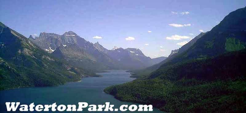 waterton lakes national park, alberta, canada valley photo